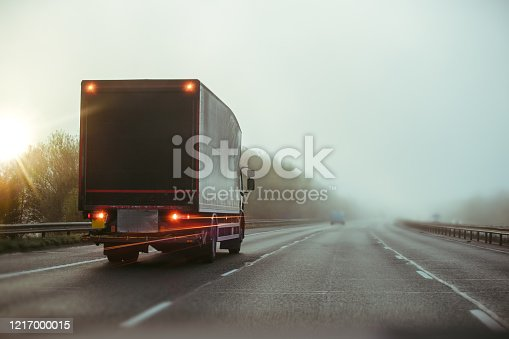 506292564 istock photo Lorry on motorway in motion 1217000015