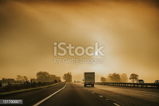 506292564 istock photo Lorry on motorway in motion 1217000071