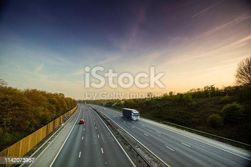 506292564 istock photo Lorry on motorway 1142073957