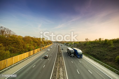 506292564 istock photo Lorry on motorway 1142074402