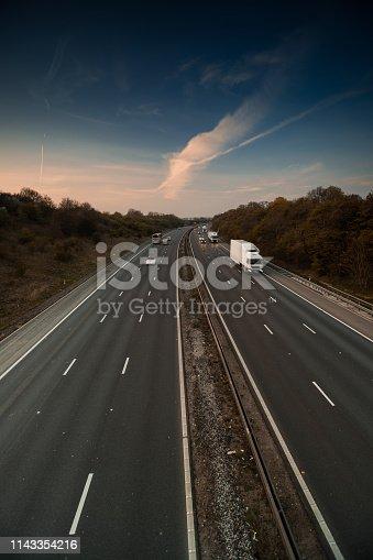 istock Lorry on motorway 1143354216