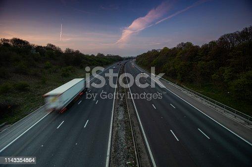 506292564 istock photo Lorry on motorway 1143354864