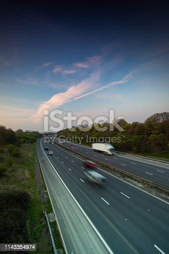 istock Lorry on motorway 1143354974