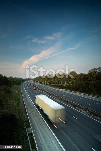 506292564 istock photo Lorry on motorway 1143355146