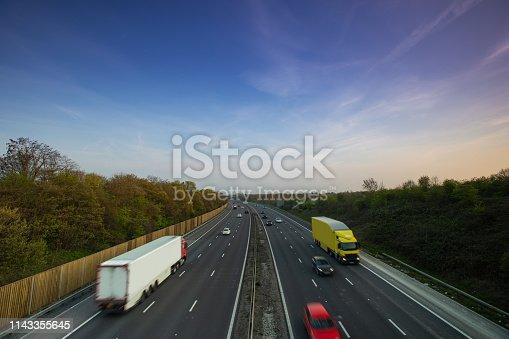 506292564 istock photo Lorry on motorway 1143355645