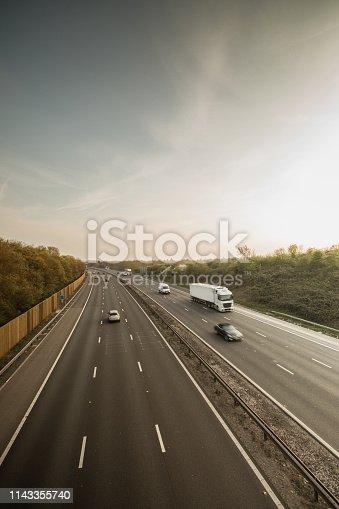 istock Lorry on motorway 1143355740
