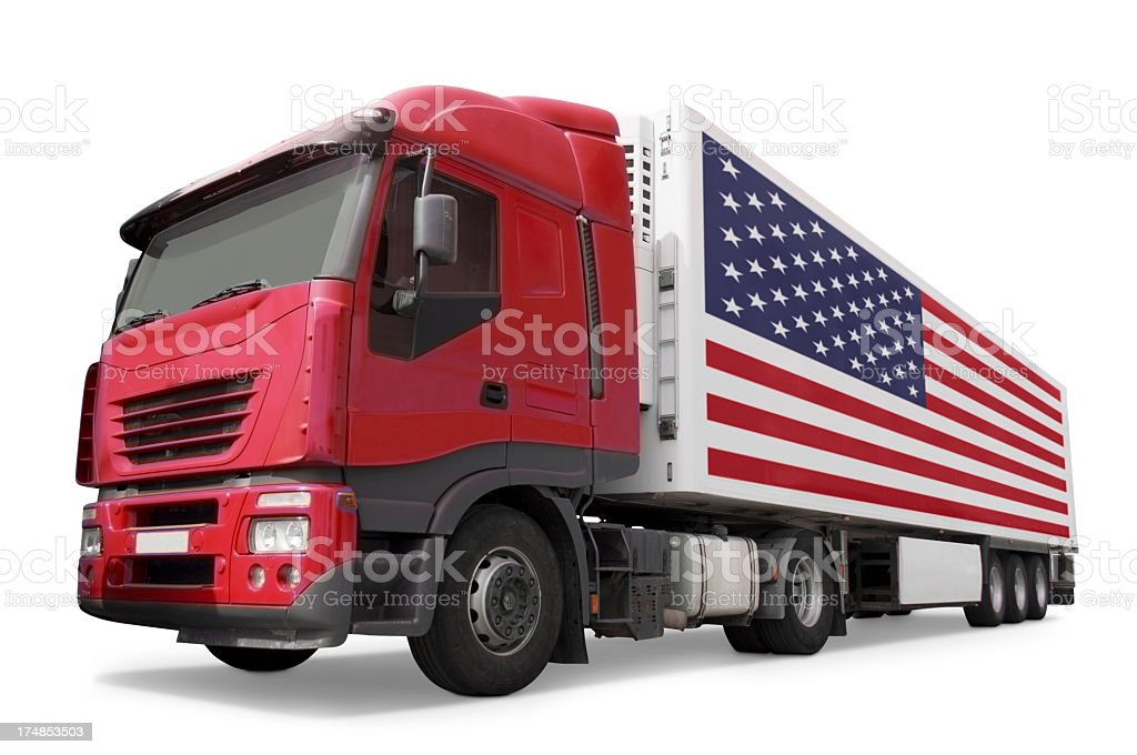 Lorry royalty-free stock photo