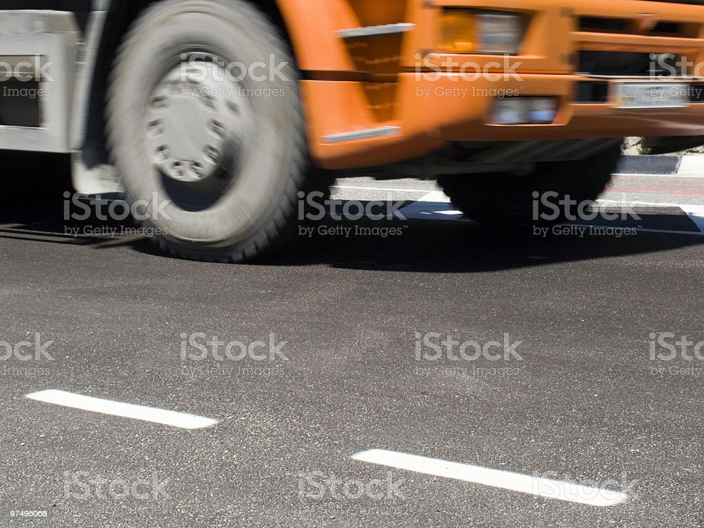 Lorry royalty-free stock photo