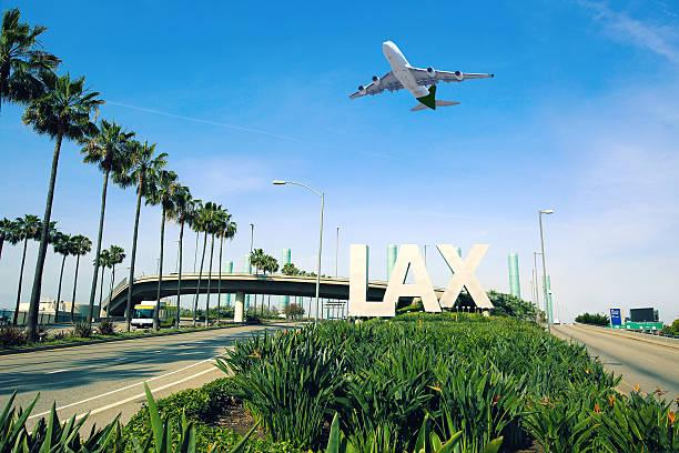 Aeroporto de Los Angeles, LAX - foto de acervo