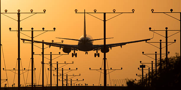 Aeroporto de Los Angeles - foto de acervo