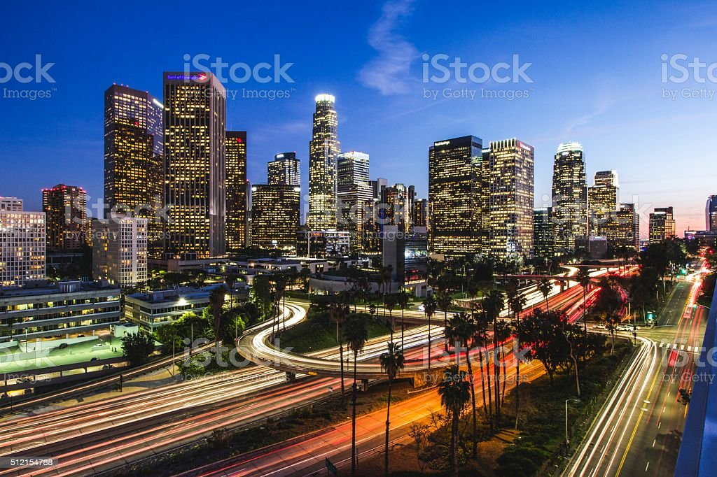 Los Angeles, CA stock photo
