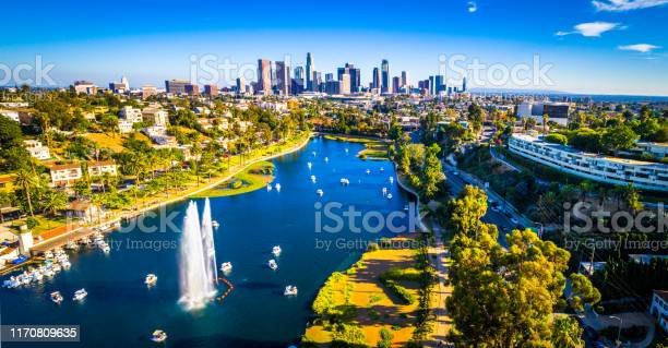 Los angeles california echo park with fountain and afternoon view of picture id1170809635?b=1&k=6&m=1170809635&s=612x612&h=4jitj1l2ikz9 zzfk79eemdb7co xwy57b0ec y8lwk=