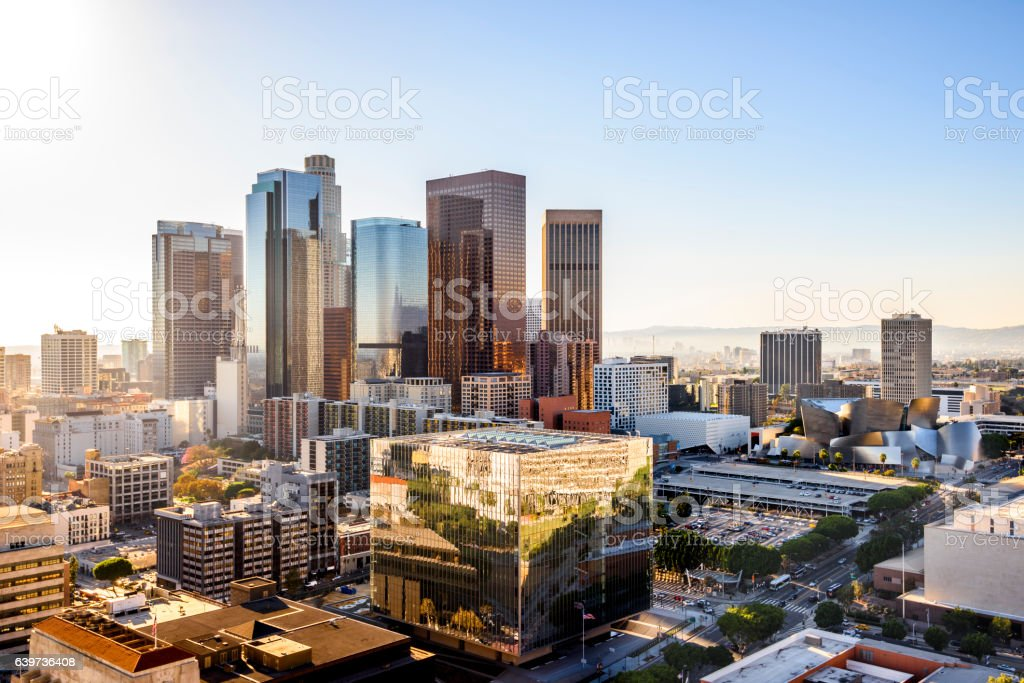 Los Angeles, California stock photo