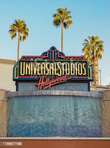 September 28, 2017, Los Angeles, California, United States of America. Universal Studios Hollywood  Entry Poster