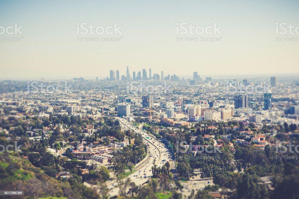 los angeles, california, usa stock photo