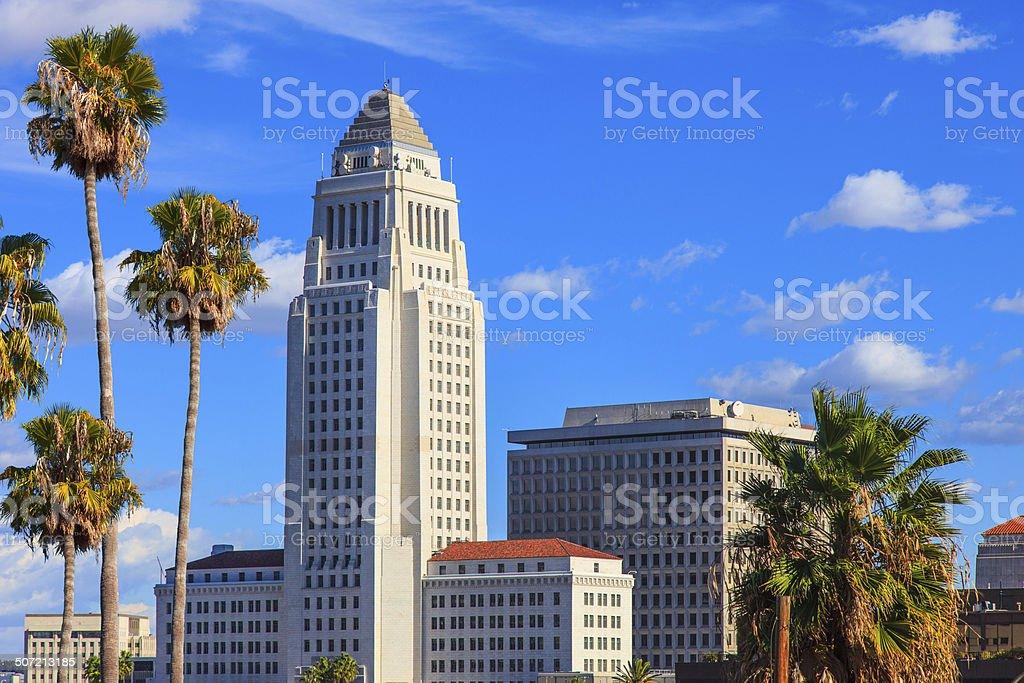 Rathaus von Los Angeles, CA – Foto