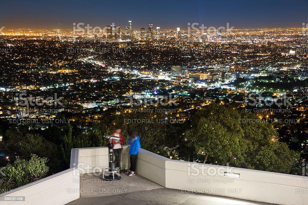 Лос-Анджелес Город Стоковые фото Стоковая фотография