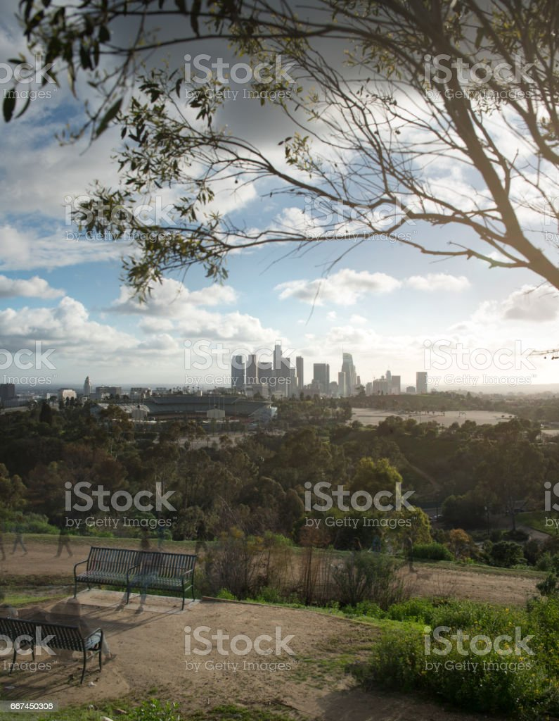 Los Angeles Cityscape stock photo