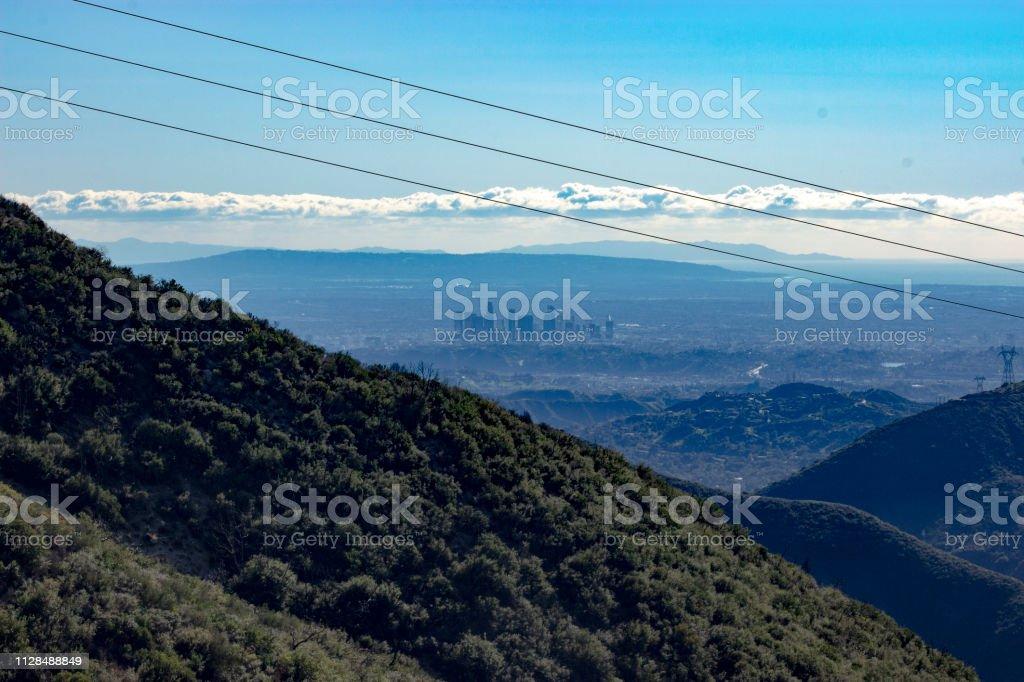 Los Angeles - Distant Skyline 2 stock photo