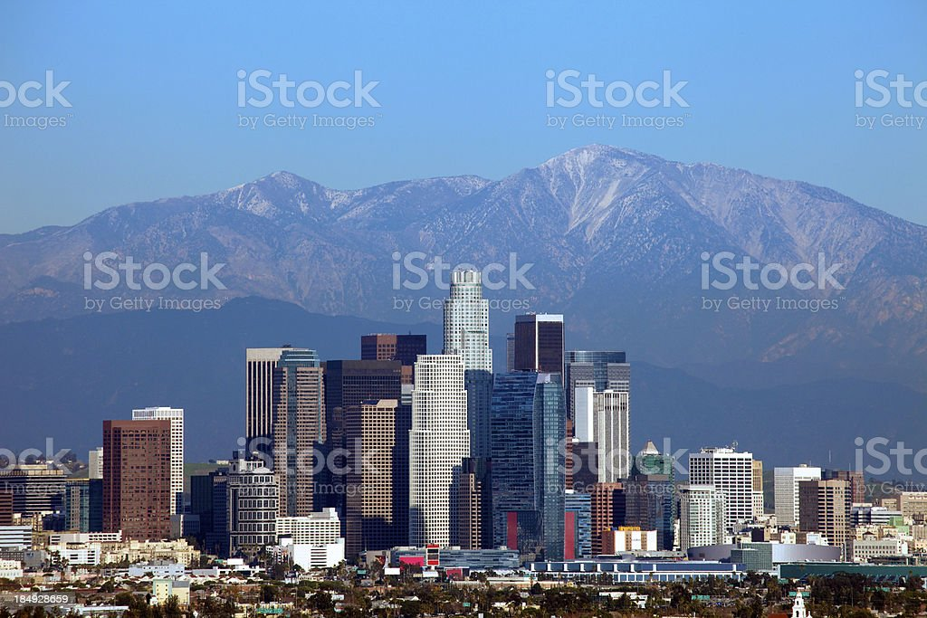 Los Angeles Downtown stock photo