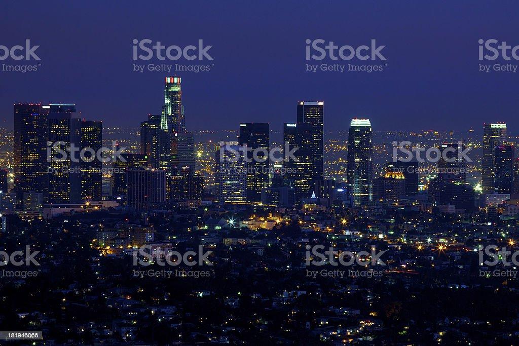 Der Innenstadt von Los Angeles – Foto