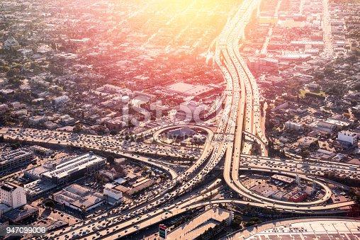 istock Los Angeles Freeway Rush Hour 947099006
