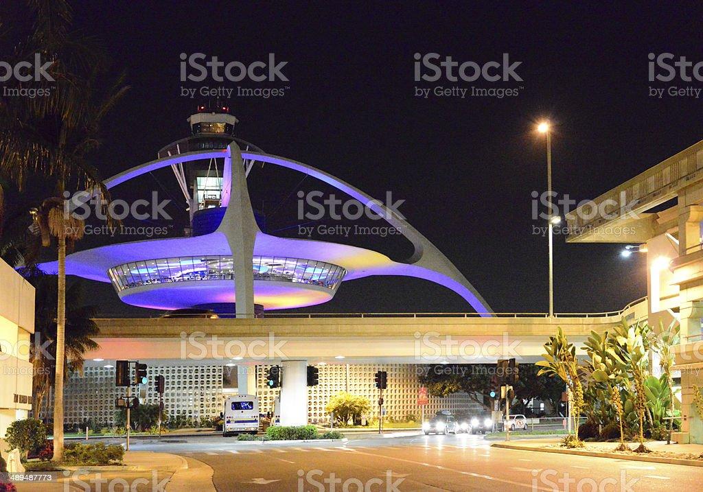 Los Angeles International Airport, California, USA stock photo