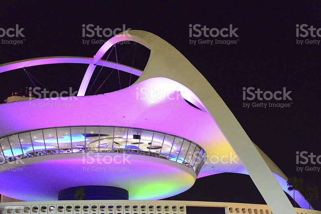 LAX, Los Angeles International Airport, California, USA royalty-free stock photo