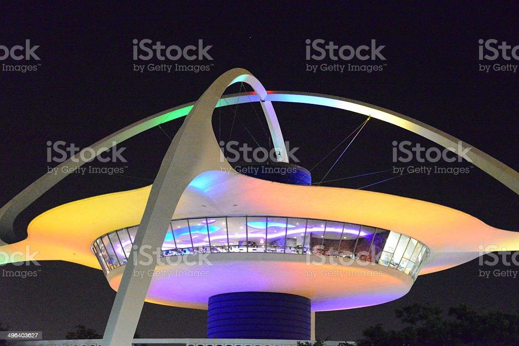 LAX-Aeroporto Internacional de Los Angeles, Califórnia, EUA - foto de acervo
