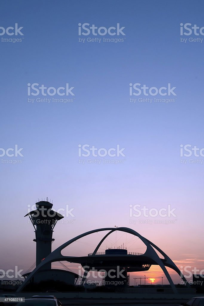 Los Angeles International Airport (LAX) stock photo