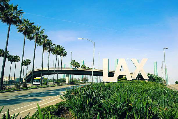 Aeroporto Internacional de Los Angeles - foto de acervo
