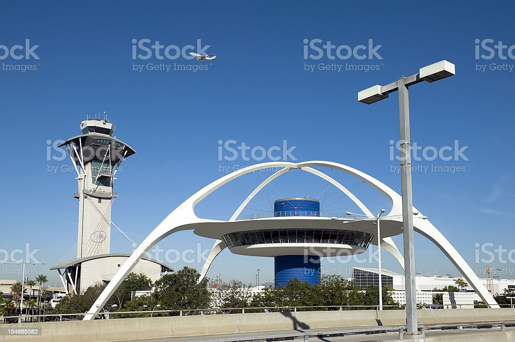 Los Angeles LAX stock photo