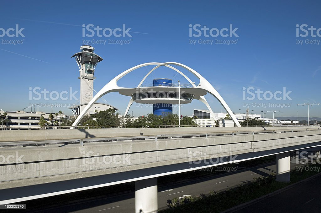 Los Angeles LAX royalty-free stock photo