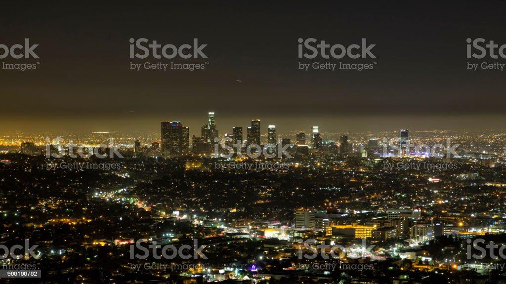 Los Angeles - Royaltyfri Arkitektur Bildbanksbilder