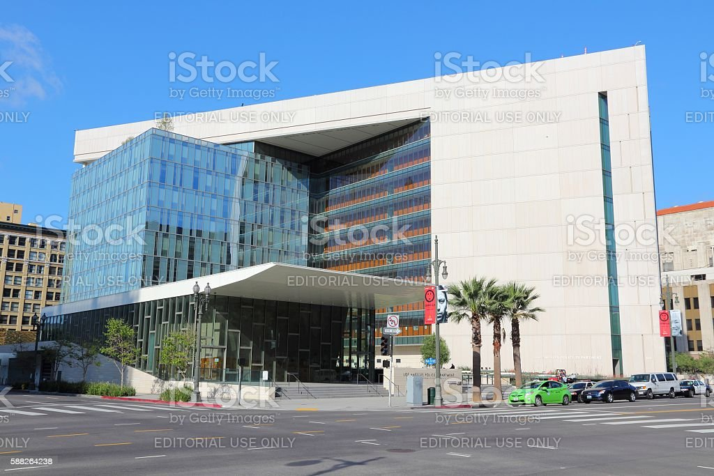 Los Angeles Police Deparment stock photo