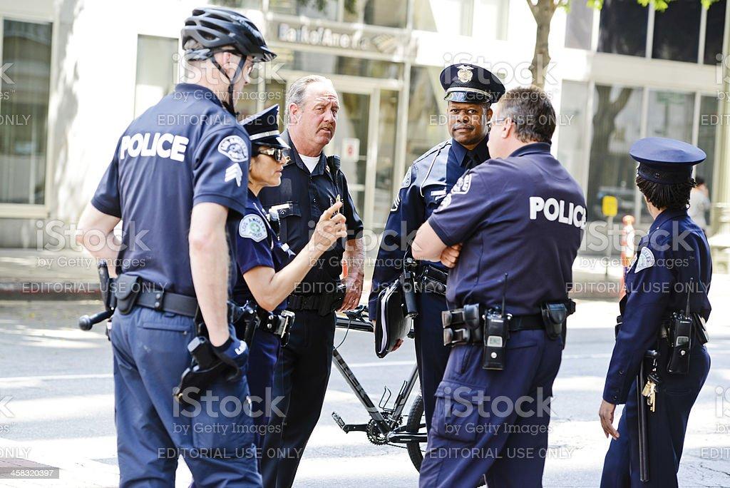 Los Angeles Police stock photo