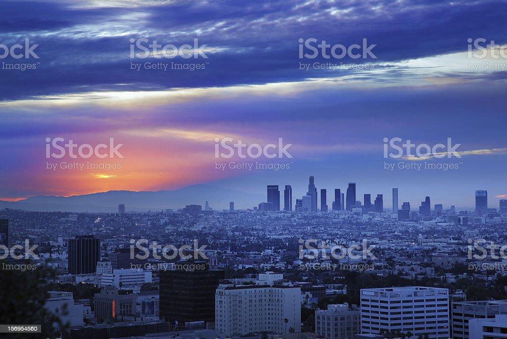 skyline von Los Angeles – Foto