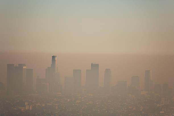 polución de los ángeles - contaminación ambiental fotografías e imágenes de stock