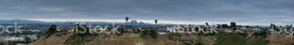 Los Angeles Sprawl Panorama stock photo