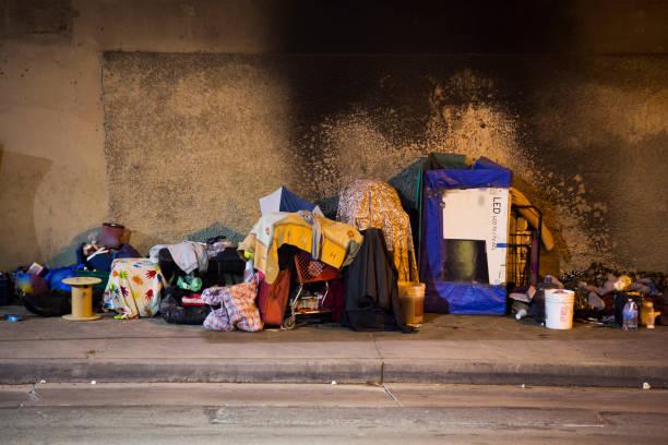 los angeless homelessness - sem teto - fotografias e filmes do acervo
