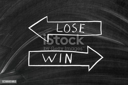 istock Lose and win 528885983