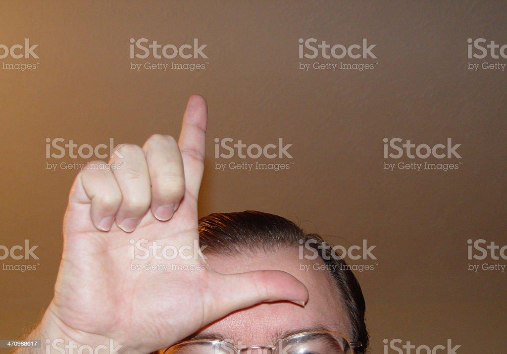 loser stock photo