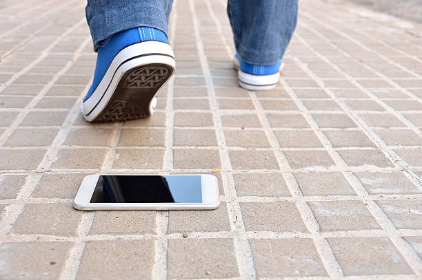 losing my smartphone - lost stock photos and pictures