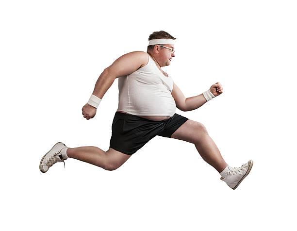pérdida de peso - hombres grandes musculosos fotografías e imágenes de stock
