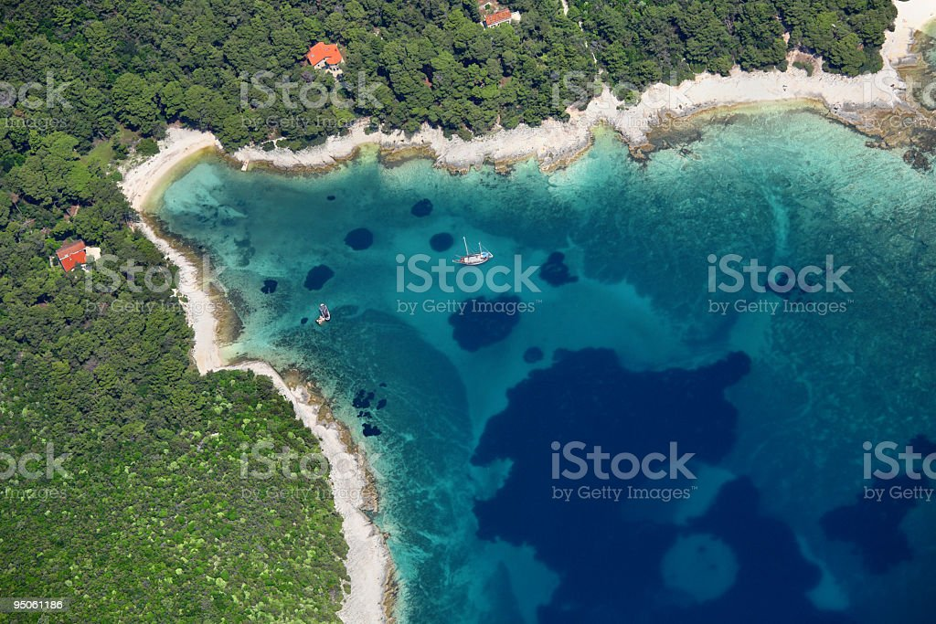 Losinj Island detail royalty-free stock photo