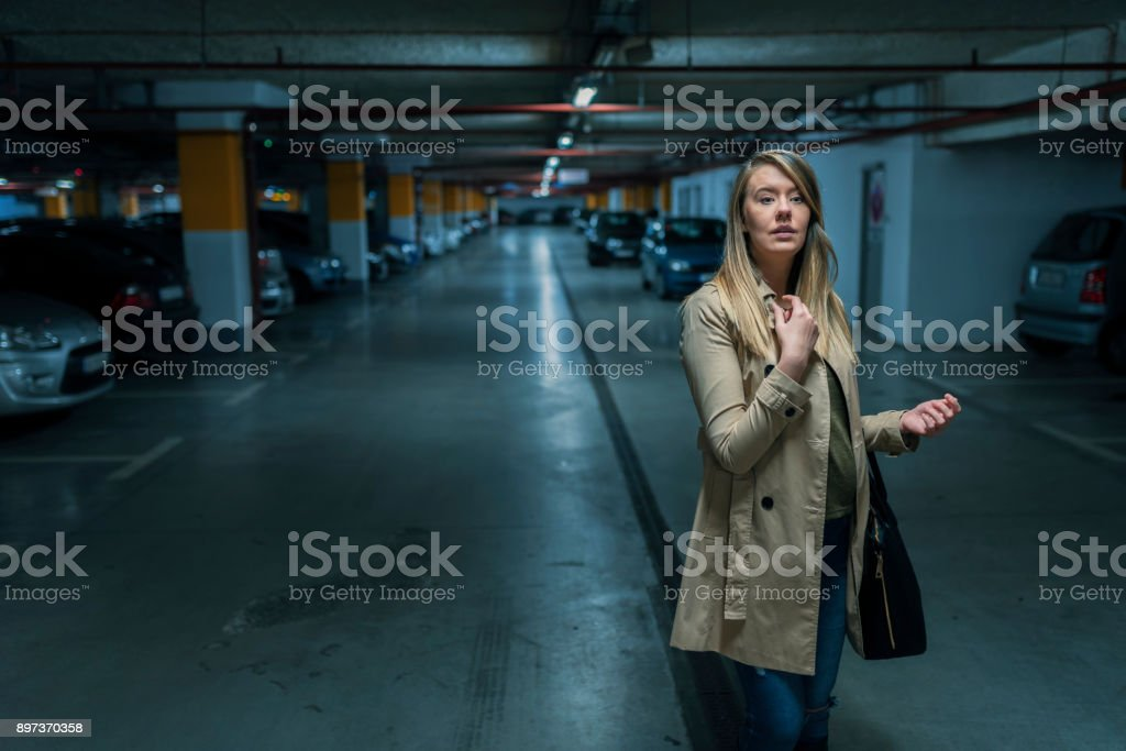 Lost and alone stock photo