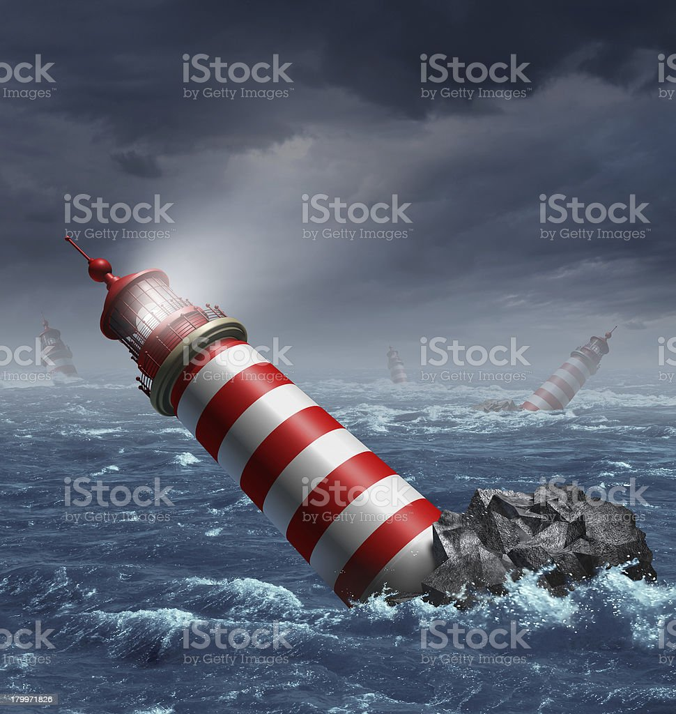 Lost Direction stock photo