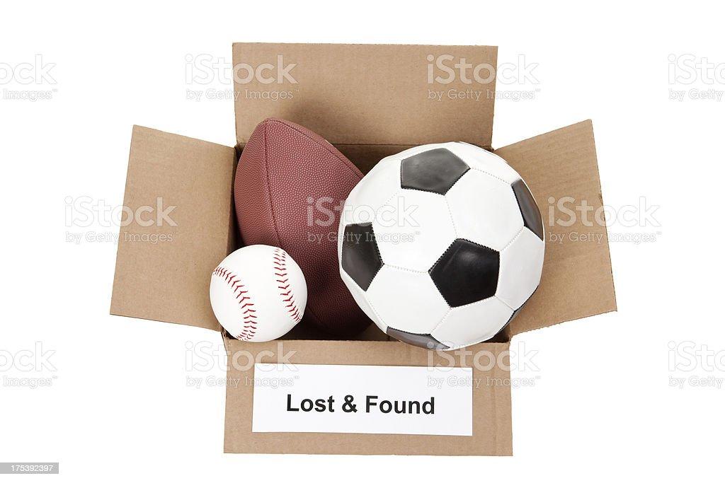 Lost & gefunden Sport Bälle – Foto