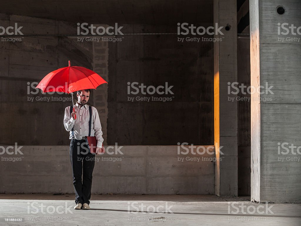 Lost Gentleman royalty-free stock photo