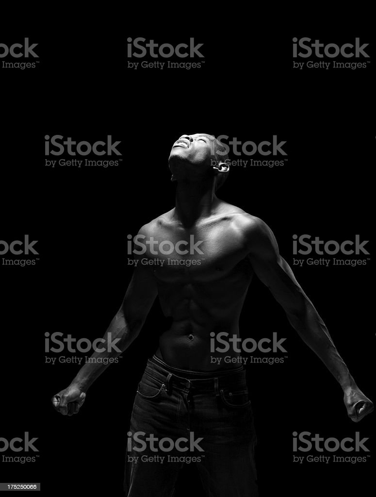 Lost in a moment royalty-free stock photo